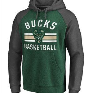 "NBA Milwaukee Bucks ""47 Brand"" Hoodie"
